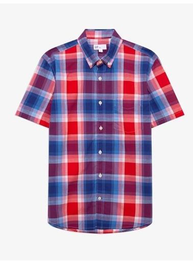 Gap Slim Fit Kısa Kollu Gömlek Renkli